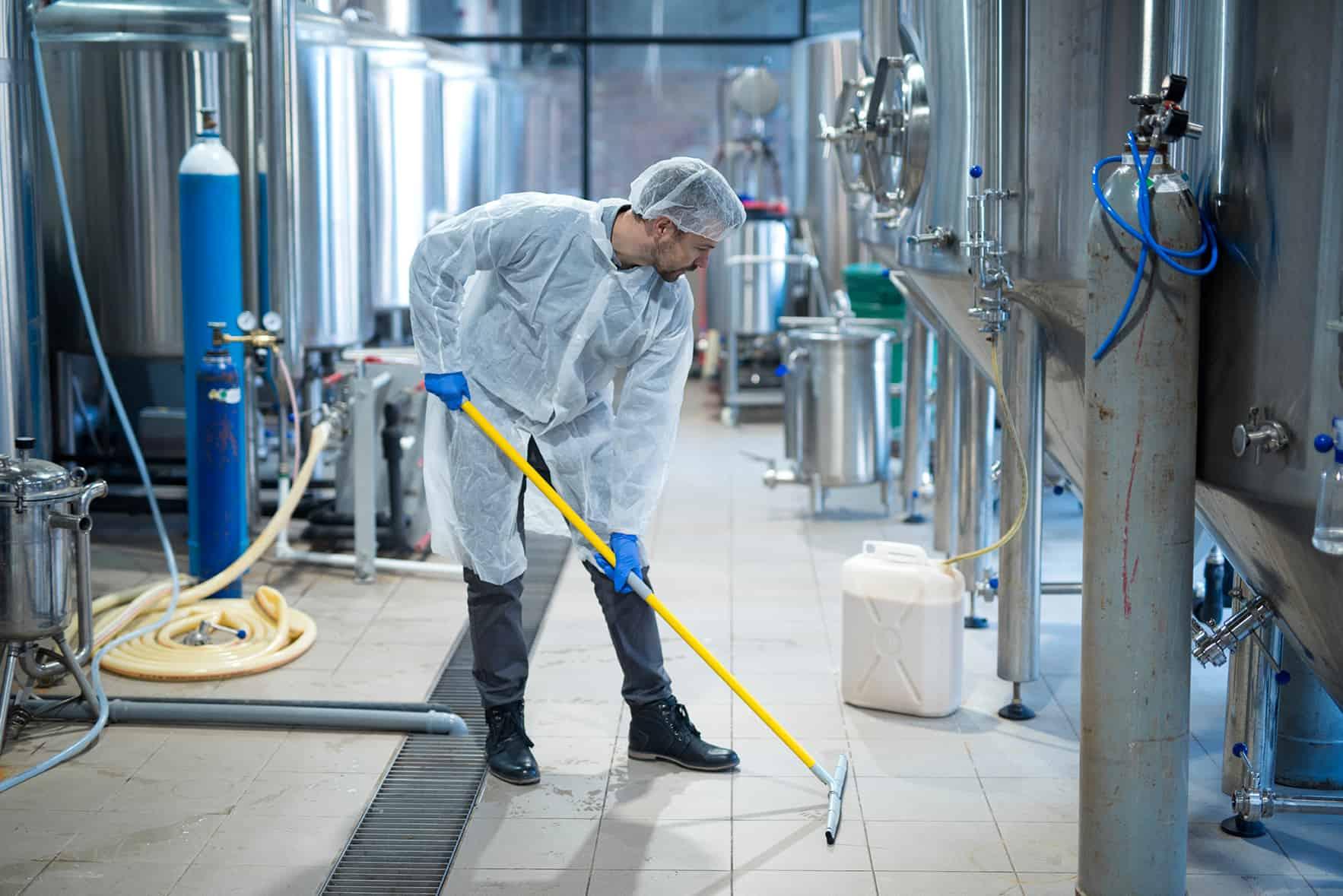 pulizia industriale coronavirus